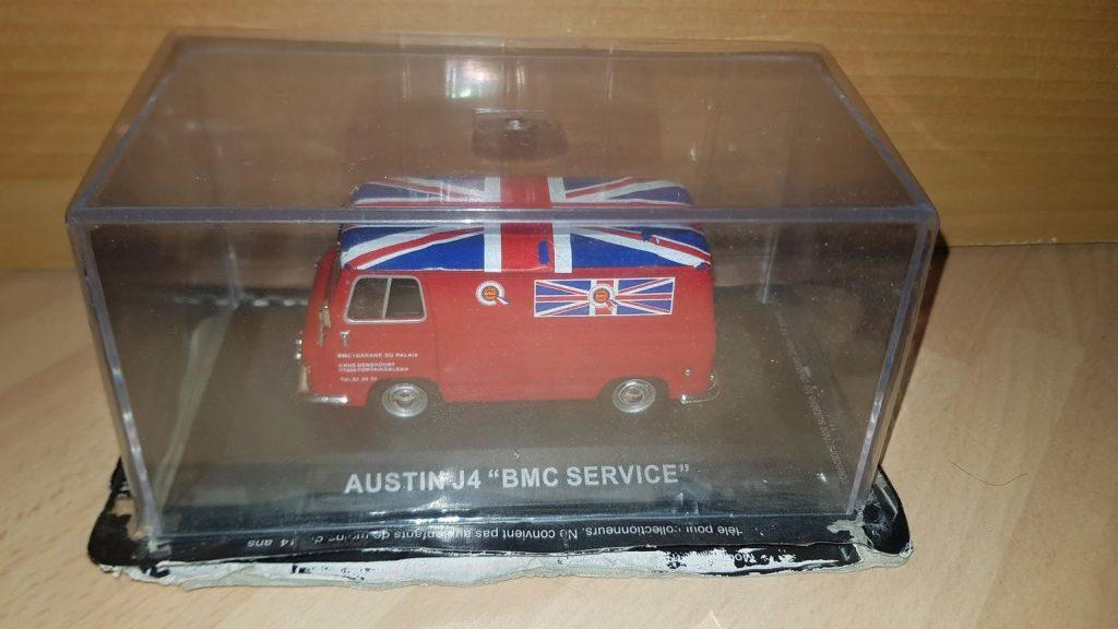 Austin J4 - IXO BMC Service - Red Van
