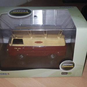 FDE001 - Oxford Die-cast - British Railways Ford Thames Van