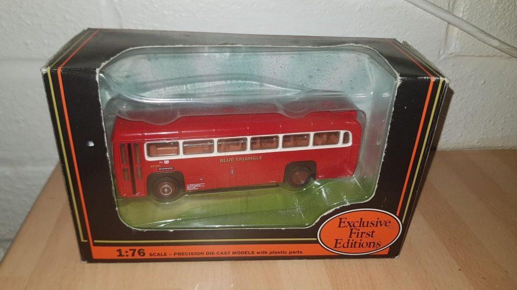 23312 - EFE - AEC RF Bus - Blue Triangle R612 diecast model bus