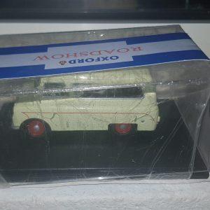 Oxford Diecast 1:43 CA008 Bedford Van / Minibus - Cream